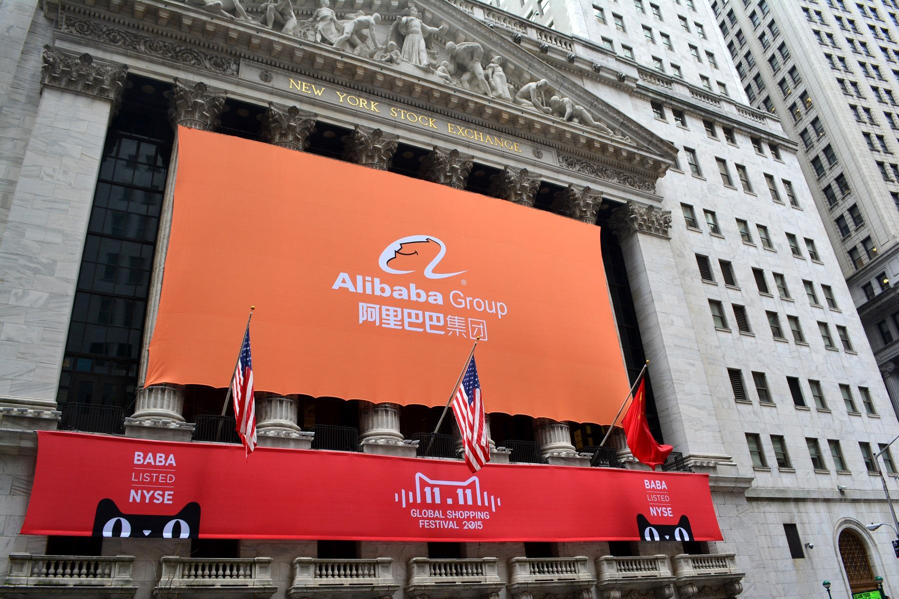 Alibaba op de beurs