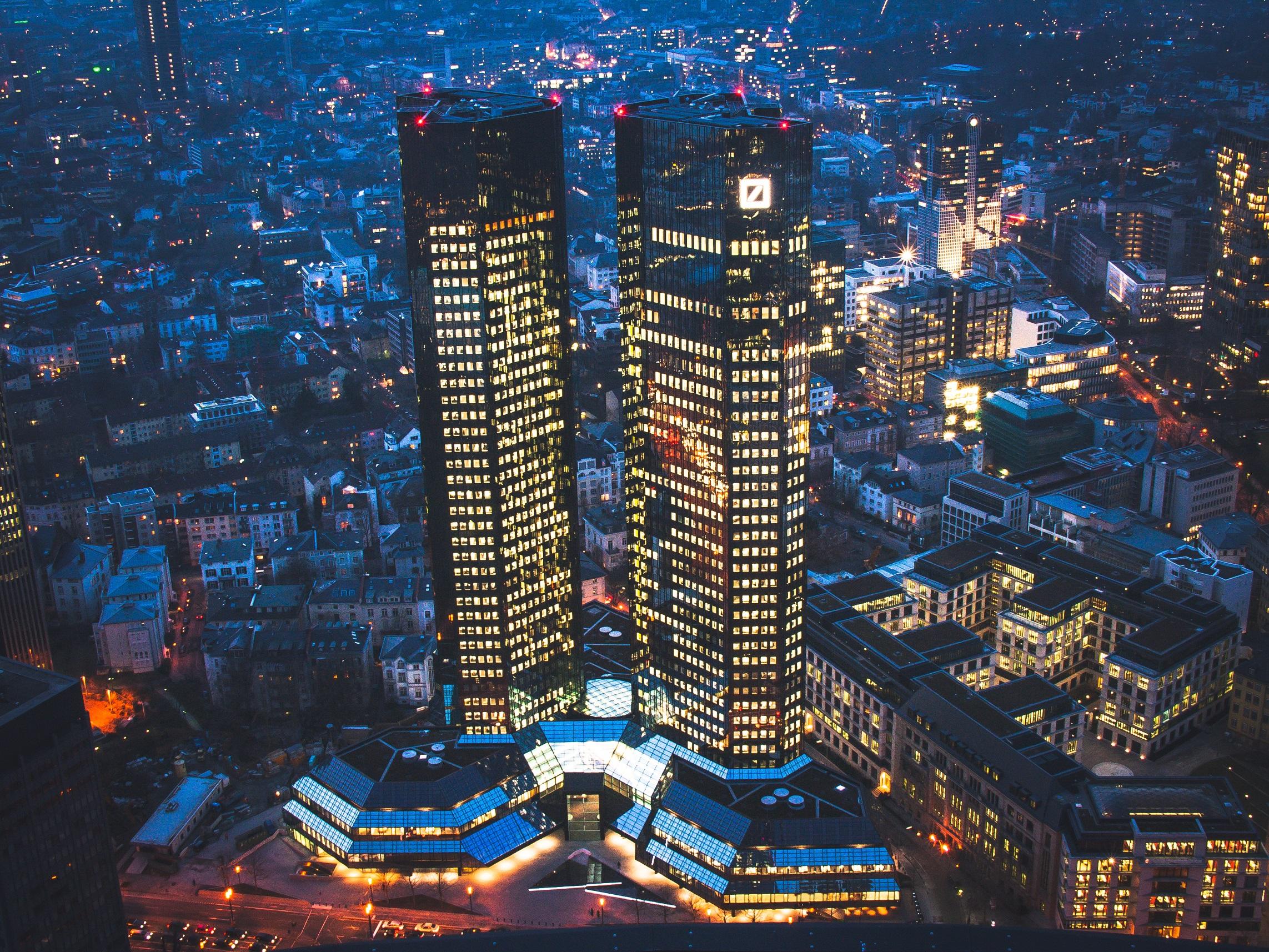 Deutsche bank Hoofdkantoor