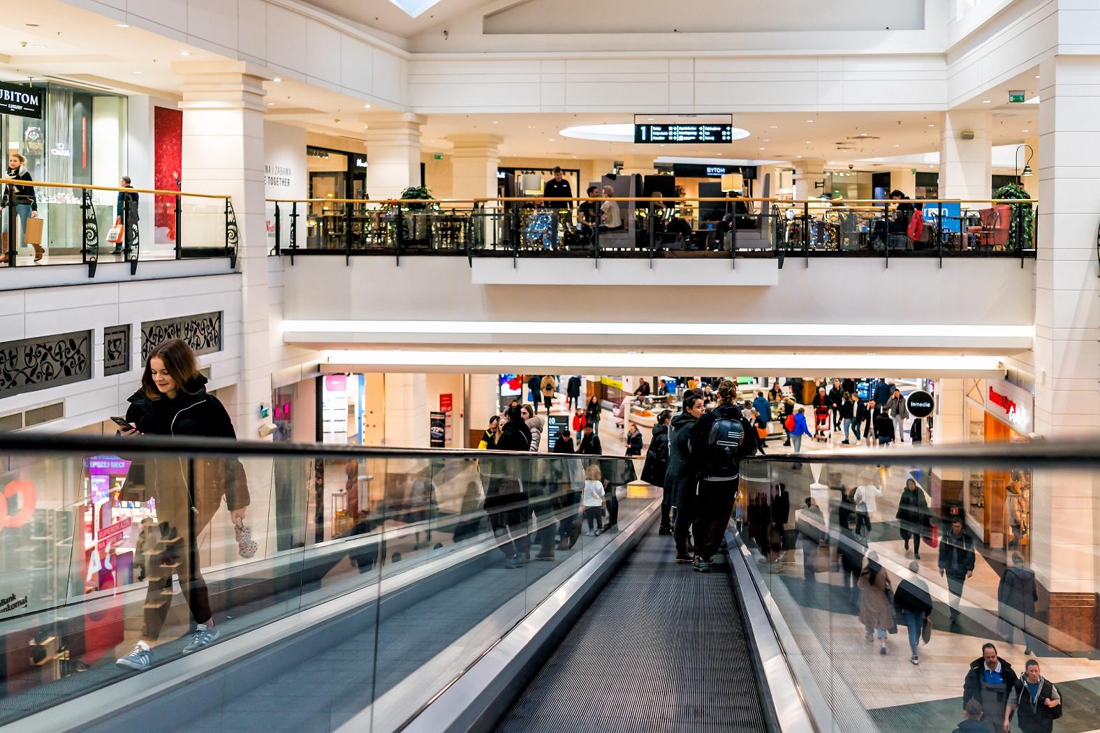 Unibail-Rodamco-Westfield winkelcentrum